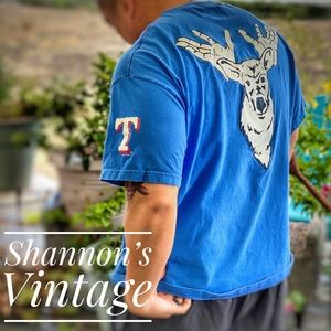 """Nike Rangers """"Claw and Antlers"""" XXL tee A30"""